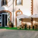 Le scuderie della Tesoriera - Il dehor nel Parco